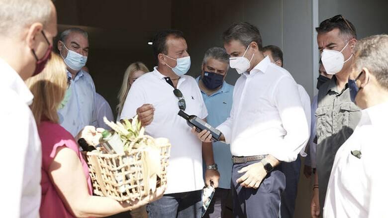 Επίσκεψη του Πρωθυπουργού Kυριάκου Μητσοτάκη στη Μεσσηνία